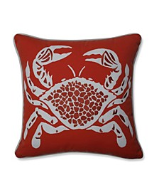 Calvin The Crab Throw Pillow
