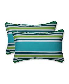 Aruba Stripe Rectangular Throw Pillow, Set of 2
