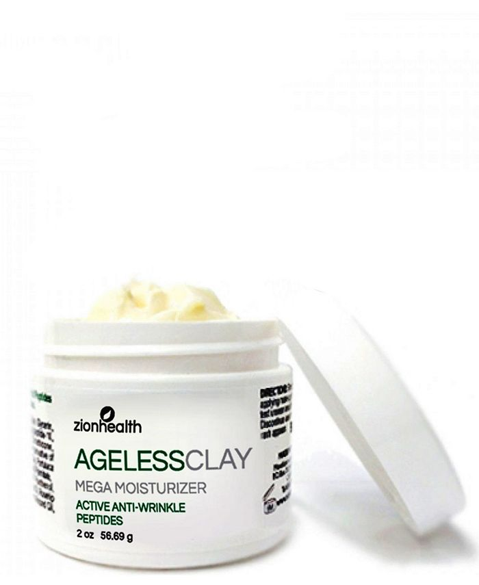 Zion Health - Ageless Clay Anti-Wrinkle Cream w/ Active Peptides