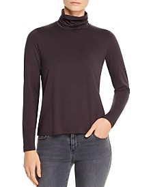 Eileen Fisher Scrunch-Neck Top