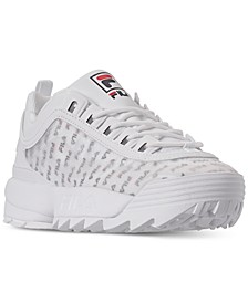 Women's Disruptor II Clear Logo Casual Athletic Sneakers from Finish Line