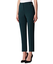 Petite Shannon Slim-Leg Dress Pants