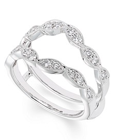 Certified Diamond (1/2 ct. t.w.) Ring insert in 14K White Gold
