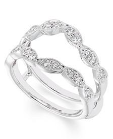 Certified Diamond (1/2 ct. t.w.)Ring insert in 14K White Gold