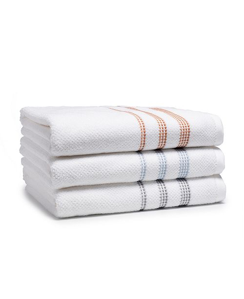 Cassadecor Cotton Riceweave Towel Collection