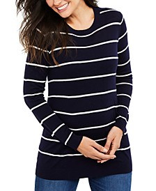 Maternity Striped Sweater