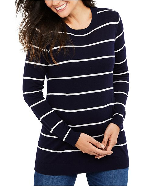 Isabella Oliver Maternity Striped Sweater