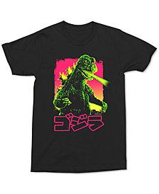 Neon Godzilla Men's Graphic T-Shirt