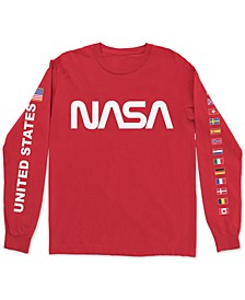 NASA Flags Men's Long Sleeve T-Shirt