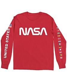 NASA Flags Men's Long Sleeve T-Shirt