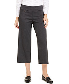 Alfani Tummy-Control Culotte Pants, Created For Macy's