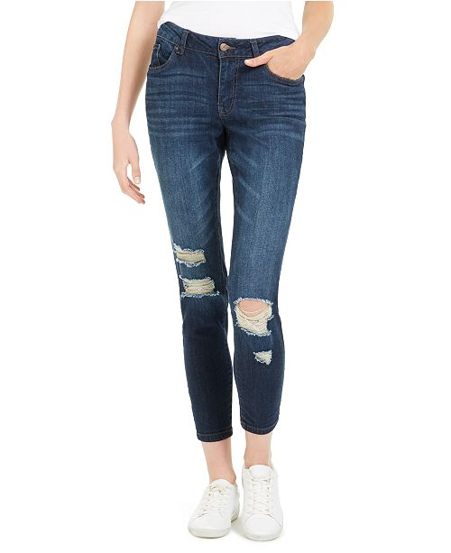 Dollhouse Juniors' Distressed Skinny Jeans