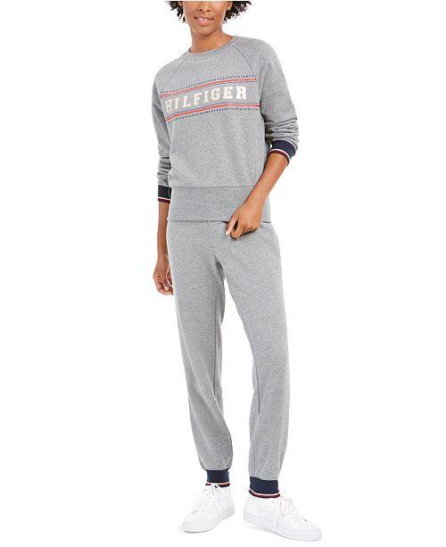 Tommy Hilfiger Fair Isle Sweatshirt, Hoodie & Jogger Pants