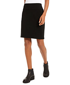 Eileen Fisher Pull-On Pencil Skirt