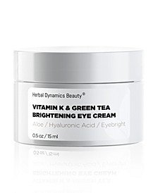 Vitamin K and Green Tea Brightening Eye Cream