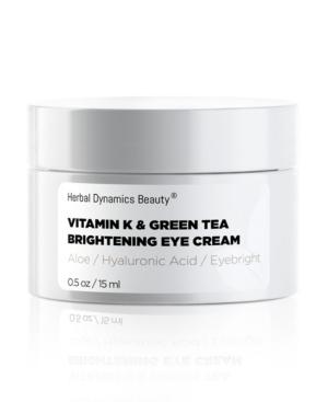 Vitamin K and Green Tea Brightening Eye Cream
