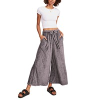 Deals on Free People Make It Maxi Wide Leg Pants