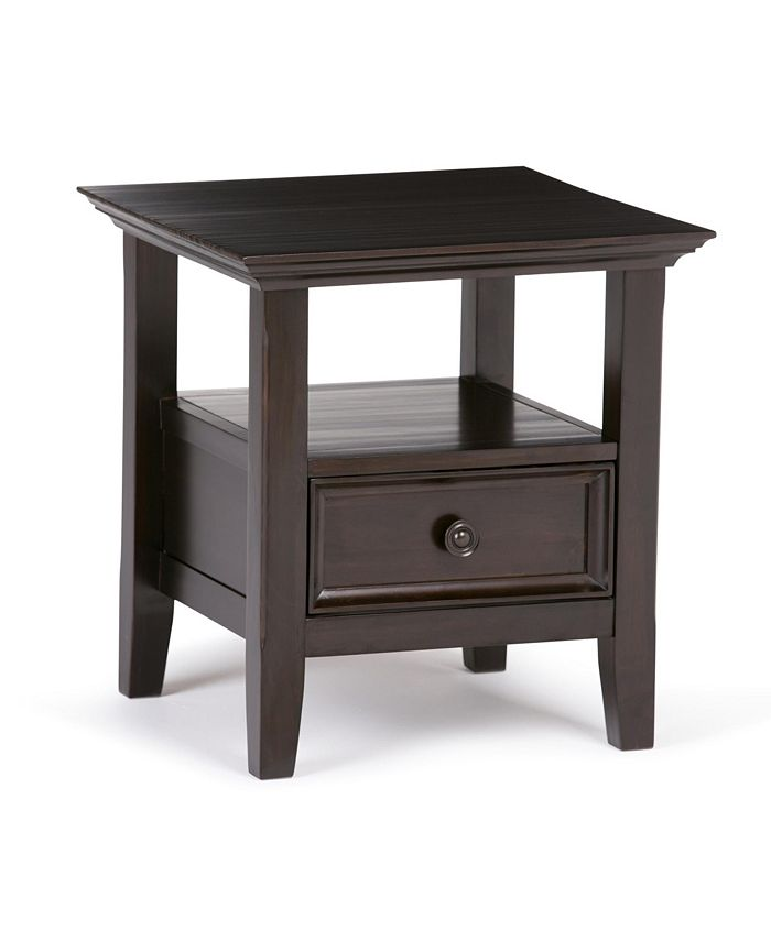 Simpli Home - Amherst End Table, Quick Ship