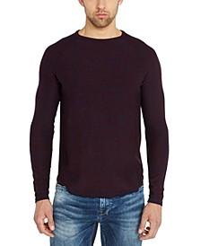 Men's Textured Stripe Sweater