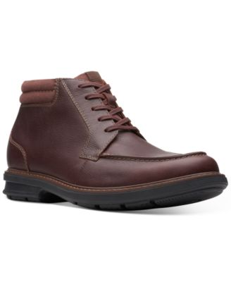 clarks mens boots clearance