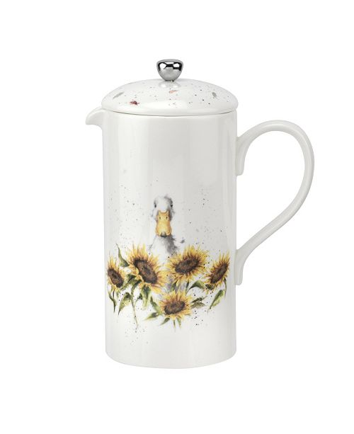 Royal Worcester Wrendale Cafetiere Duck