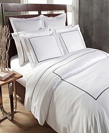 Home 300 Thread Count Embroidered Circle Link King Duvet Set