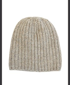 Marled Rib Knit Beanie