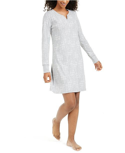 Charter Club Women's Sleep Shirt Nightgown, Created For Macy's