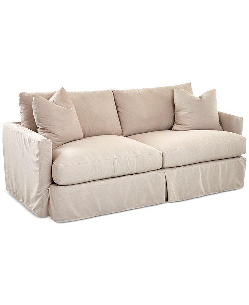Furniture Perea Slipcover Sofa