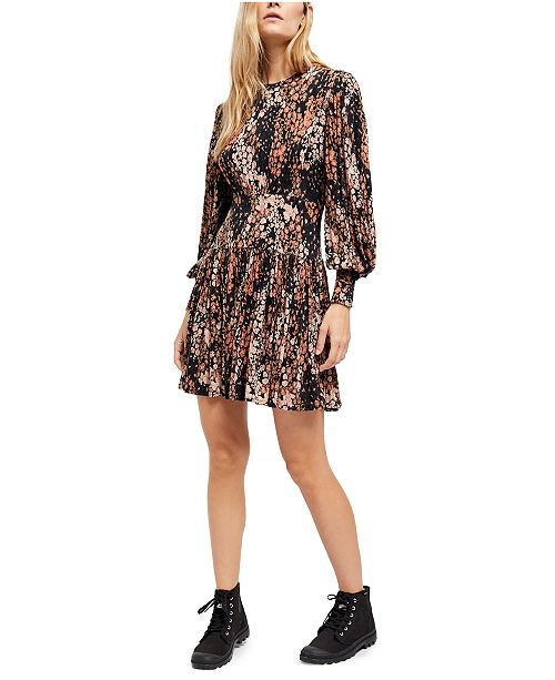 Free People Heartbeats Mini Dress
