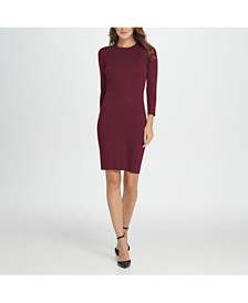 DKNY Knit Sheath Dress