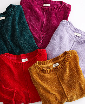 Chenille Sweaters, Regular, Petite, & Plus Sizes, Created For Macy's