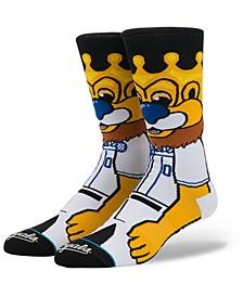 Kansas City Royals Mascot Crew Socks