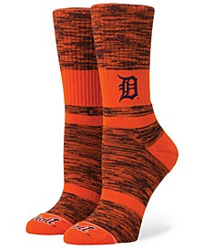Women's Detroit Tigers Classic Crew Socks