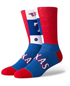 Stance Texas Rangers Pop Fly Crew Socks