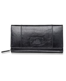 Casablanca Collection RFID Secure Ladies Clutch Wallet