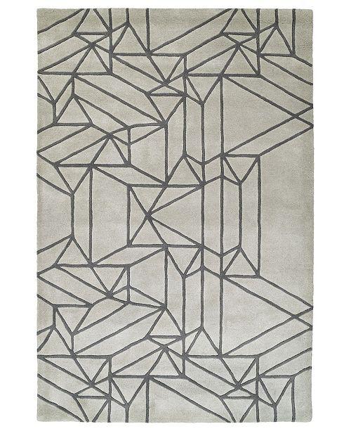 Kaleen Origami ORG04-88 Mint 8' x 10' Area Rug