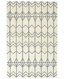 Origami ORG05-01 Ivory 8' x 10' Area Rug