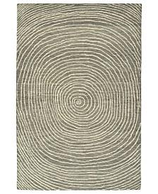 Kaleen Textura TXT01-75 Gray 2' x 3' Area Rug
