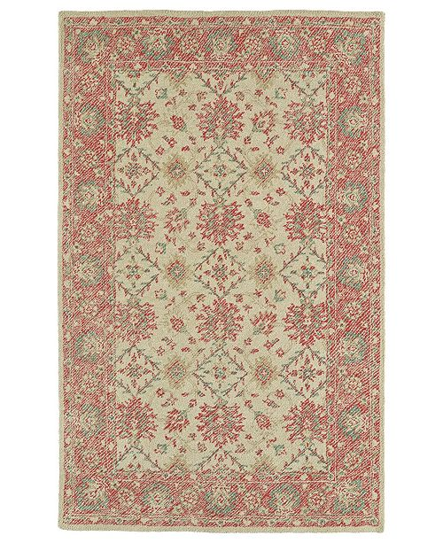 Kaleen Weathered WTR06-36 Watermelon 8' x 10' Area Rug