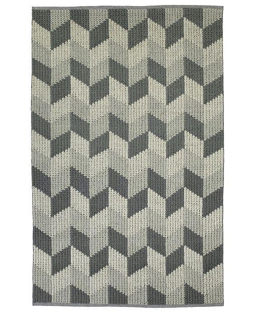 Kaleen Paracas PRC06-75 Gray 2' x 3' Area Rug