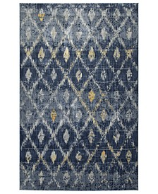 "Tiziano TZA05-10 Denim 9'2"" x 12'6"" Area Rug"