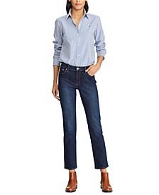 Petite Modern Straight Curvy Jean