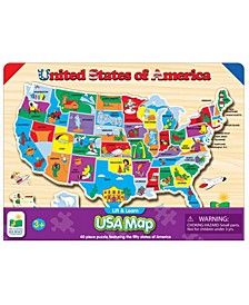 Lift and Learn USA Map Puzzle