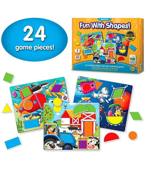 The Learning Journey Match It- Fun with Shapes