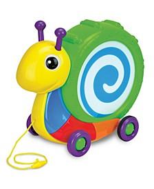 Pull Along Snail Drum