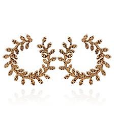 Nanette Nanette Lepore Beautifully Berry Hoop Earring
