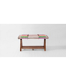 Upholstered Linen Storage and Entryway Bench