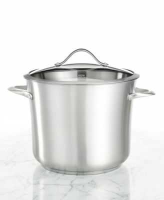 calphalon stainless steel 12 qt covered stockpot