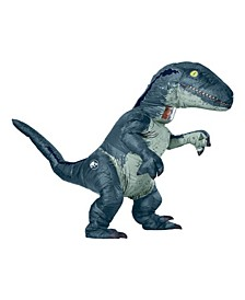 BuySeason Men's Jurassic World Velociraptor Inflatable Costume W Sound